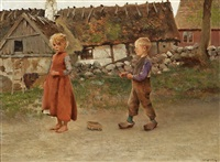 child's play by august vilhelm nikolaus hagborg