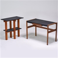 desk and side table by jens risom