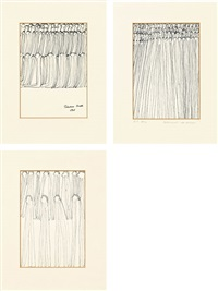 ohne titel (+ 2 others; 3 works) by oswald tschirtner