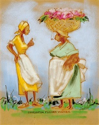 charleston flower women by virginia fouche bolton