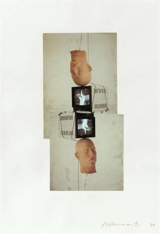 frankfurt portfolio (set of 4) by bruce nauman