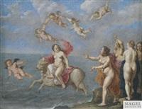 der raub der europa by cornelis van poelenburgh