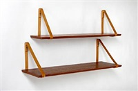 shelves (set of 5) by kristian solmer vedel