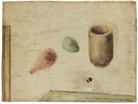 cista (körbchen) mit ei 5. fassung by julius bissier