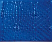 superficie blu by enrico castellani