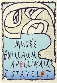 musée guillaume apollinaire à stavelot by pierre alechinsky