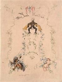 die inseln wak wak. eine erzählung aus nacht (bk w/54 works, folio) by max slevogt