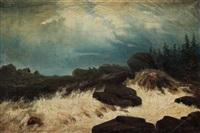 bränningar (breaking waves) by carl fredrik hill
