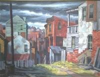 modernist urban landscape by john foster