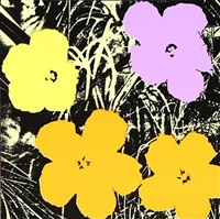 flower portfolio by andy warhol