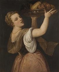 pomona by titian (tiziano vecelli)