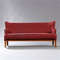 freestanding three seater sofa by eva and nils koppel