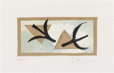 les martinets by georges braque