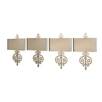 sconces (4 works) by charles et fils