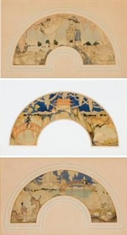 images from the orient (3 works) by william mitcheson timlin