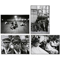 students in tiananmen (+ 3 others, 4 works) by liu heung shing