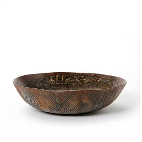 bowl modelled on the outer by axel johann salto