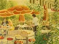 terrasse de la faucado, la garde-freinet by louis fabian