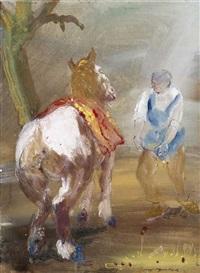 pferdefütterung by emanuel hegenbarth