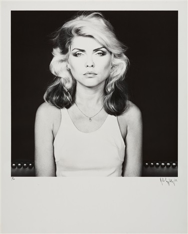 deborah harry by robert mapplethorpe
