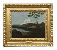 welsh landscape by george barret