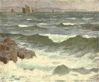 mounts bay, cornwall by garnet ruskin wolseley