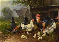 hühnerhof by otto scheuerer
