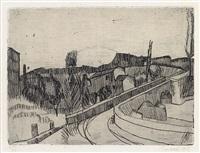 il ponte sul savena a bologna by giorgio morandi
