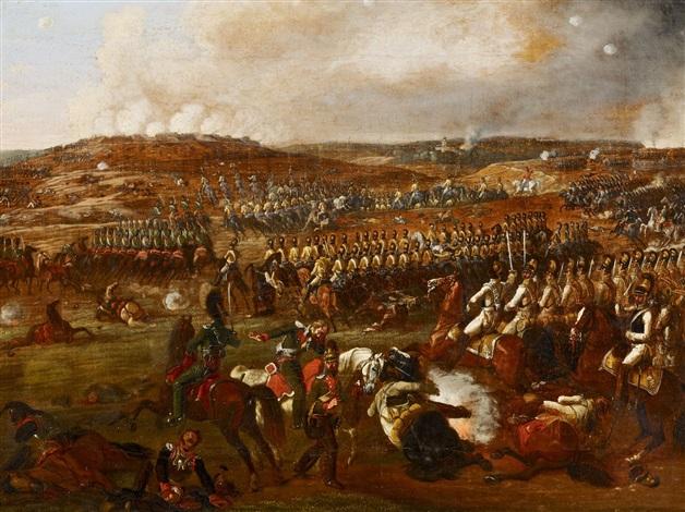 schlacht von borodino die schlacht an der moskwa bei borodino am 7 september 1812 by albrecht adam