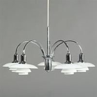 cascade ph chandelier by poul henningsen