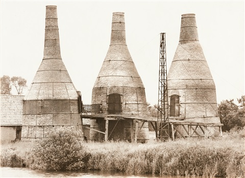 kalköfen in meppel holland 1968 by bernd and hilla becher