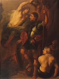 saint george crowned with laurels by theodor van thulden