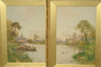 gloucester (+ cirencester; pair) by walter stuart lloyd