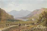 capel curig, north wales by david cox the elder