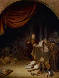 vanitas-allegorie by jacob van spreeuwen