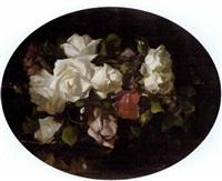 still life of roses by david alison