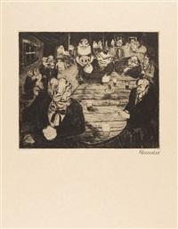 3 bll. aus: der narr in christo emanuel quint by heinrich ehmsen