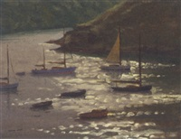 at newton ferrers by leslie kent