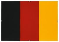 schwarz, rot, gold ii by gerhard richter
