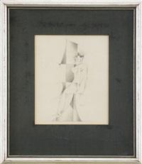 kubistiska siffror (10 works) by gösta (gan) adrian-nilsson