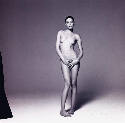 carla bruni by michel comte