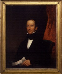 portrait of william whitlock, jr. by samuel f.b. morse