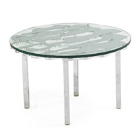 occasional table by ernest tino trova