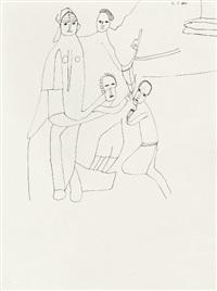 ohne titel (+ 2 others, lrgr; 3 works) by oswald tschirtner