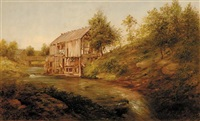 the old mill by thomas addison richards
