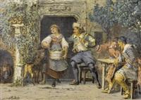 ein aufdringlicher gast by johann-salomon hegi