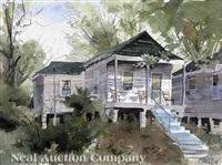 mississippi cabin by john gaddis