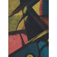 abstract composition by liubov popova