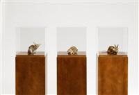 misfits (ratte/kaninchen) (3 works) by thomas grünfeld