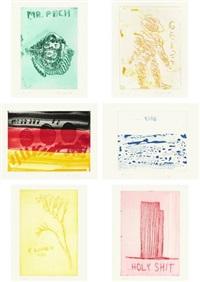 wattwanderung (portfolio of 139) by thomas schütte